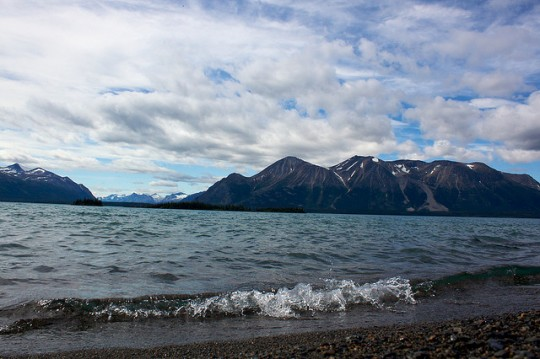 Atlin Lake, British Columbia, Canada