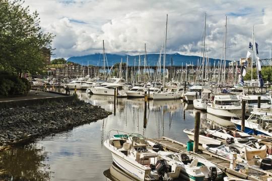 boat at Granville Island, Vancouver Canada